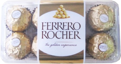 Ferrero Rocher 16 Pcs Chocolate Truffles(Pack of 1, 200 g)