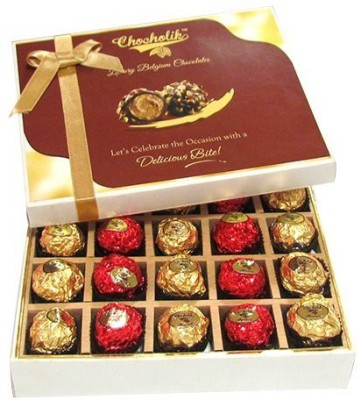 Chocholik Unique Combination Of Wrapped Box Chocolate Truffles