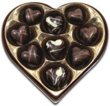 Chocholik Delightful Hearts Chocolate Tr...