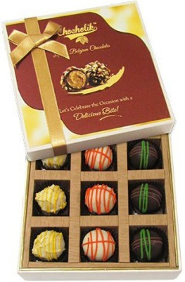 Chocholik Scrumptious White Collection Chocolate Truffles