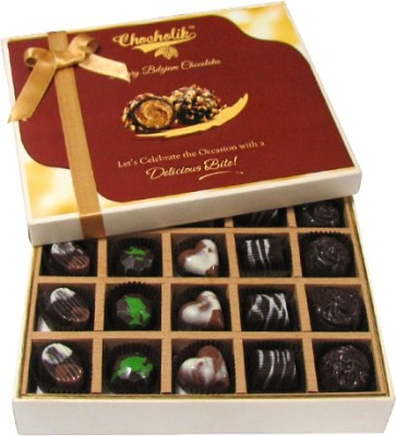 Chocholik Beautiful 20 Pc Mix Assorted Box Belgium Chocolate Truffles