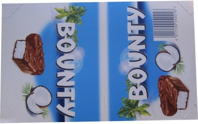 Bounty 24 Pcs Chocolate Bars(Pack of 1, 1368 g)