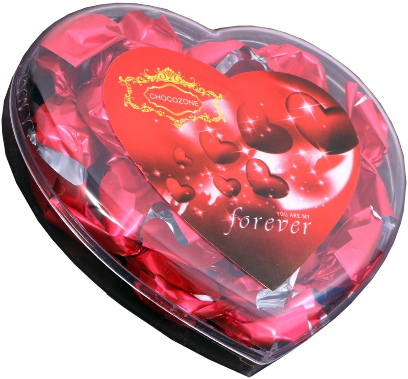 Skylofts Valentine's Heart Box with 13 Chocolate Bars(Pack of 1, 110 g)
