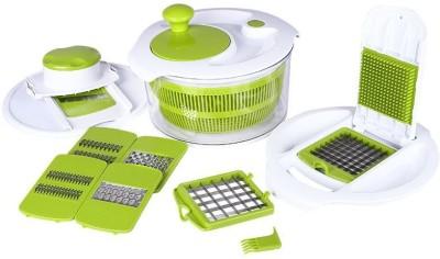 Blessed Fullstar ABB Green 8 in 1 Salad Maker Set Chopper