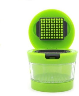 Istore 2 Stainless Steel Balde Vegetable Garlic Chopper