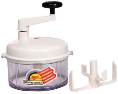 Anjali Chop N Churn Popular Chopper(White)