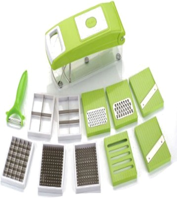 jhondeal.com Famous Vegetable cutter And Fruit Slicer With 11 Different Blades Chopper