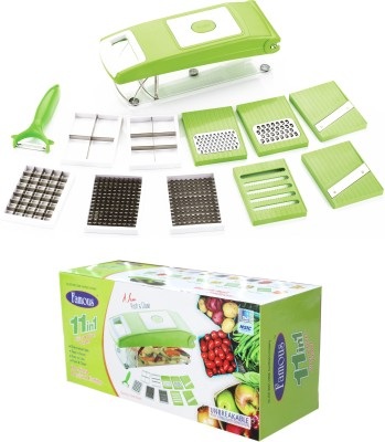Famous Vegitable And Fruit Cutter & Slicer Chopper(Green)
