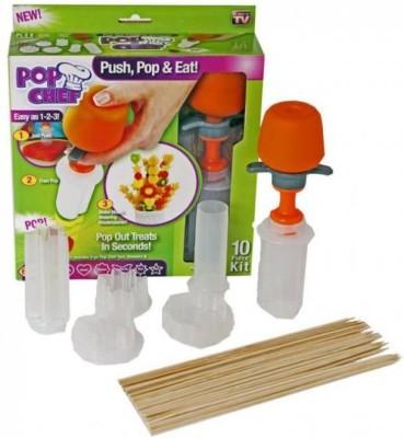 Vmore Pop Chef Food Cupcake Fruit knife Salad Cutter Edibble Arrangement Decoration Chopper