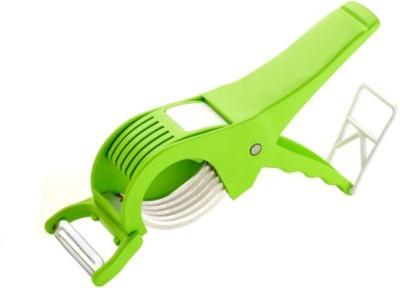 Gep Veg Peeler and Cutter Chopper(Green)