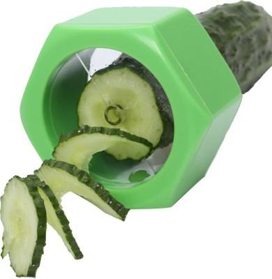Vmore Cucumber Vegetable Peeler Slicer Fruit Salad Cutter Chopper