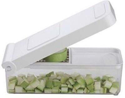 Vmore Nestwell Unbreakable Deluxe 3 blade Vegetable & Fruit Cutter Slicer Chopper
