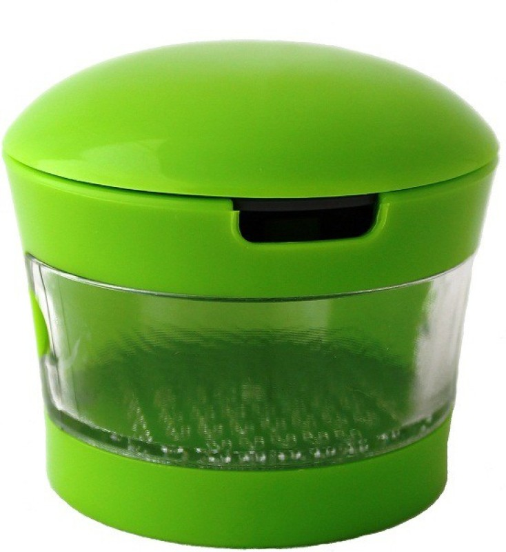MOG Garlic Grater & Chopper Plastic Grater(Green)