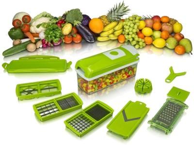 Gep Vegetable Cutter Green Kitchen Tool Set