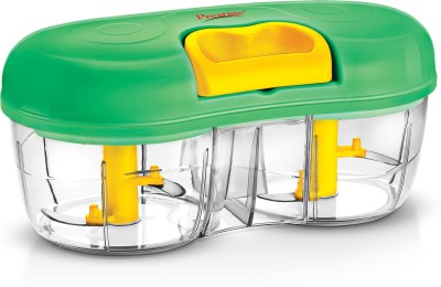 Prestige Double Veggie Chopper(Green)