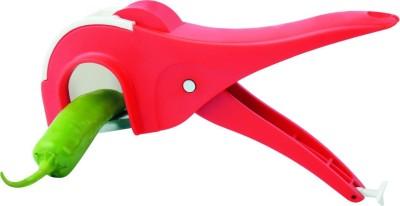 JK Hand Vegitable Stepler Food Slicer(Red)