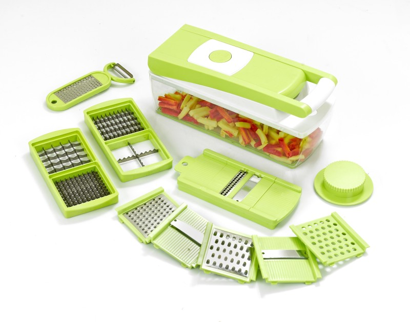 Ganesh 14 in one Quick Dicer Chopper(Green)