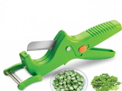 Zalak 2 in 1 Smart Vegetable Knife Chopper(Multicolor)