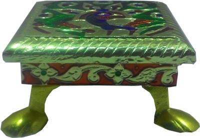 SportsHouse Handicraft Wooden Pooja Chowki