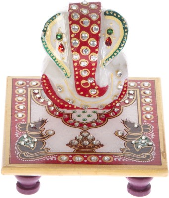 Urban Monk Creations Mouse Marble All Purpose Chowki