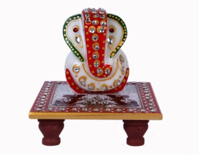 Artcraftindia Marble All Purpose Chowki