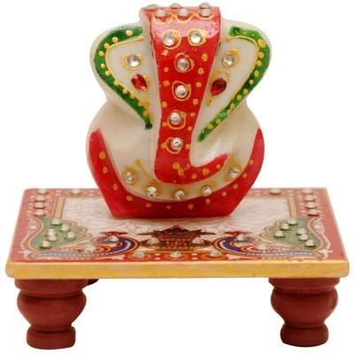 Santacart Marble Pooja Chowki