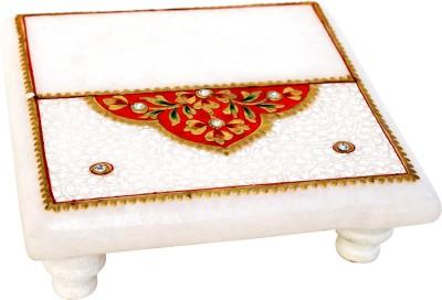 Handicrafts Paradise Stoneware Pooja Chowki