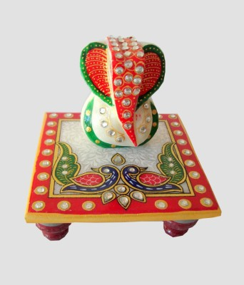 Fabulous Crafts Marble All Purpose Chowki
