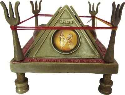 Speakfortune Baglamukhi Raksha Kawach With Mantra Vidhi Brass Pooja Chowki