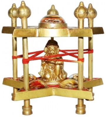 AM VAASITI Hanuman Siddh Brass Pooja Chowki(Multicolor, Pack of 1)