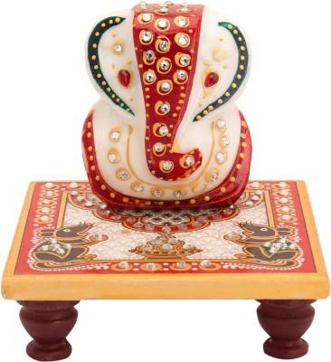 Combobazzar Religious Marble Pooja Chowki