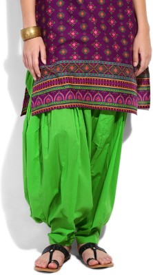 Shopping Queen Cotton Solid Patiala