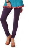 Colors & Blends Women's Purple Leggings