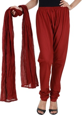 Estyle Women's Churidar and Dupatta Set