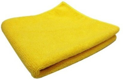 De AutoCare Set of 2 PC (Size: 30 x 20 cm) Car Bike Home Office Multi-purpose Super Clean Polish Towel Wet and Dry Microfibre Cleaning Cloth(Pack of 2)