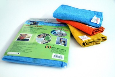 FineX well clean Wet and Dry Microfibre Cleaning Cloth