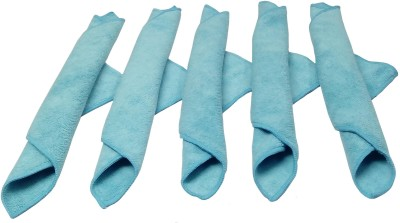 Maxx Clean Easy Wet and Dry Polyester Cleaning Cloth(Pack of 5)