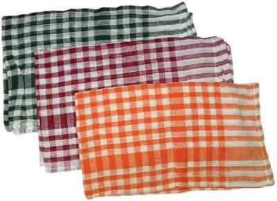 NAVISHA Dry Cotton Cleaning Cloth(Pack of 3)