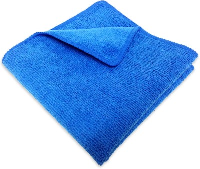 Karp Multi-purpose Cloth/ Towel- 30x30cm-300GSM-Blue Wet and Dry Microfibre Cleaning Cloth
