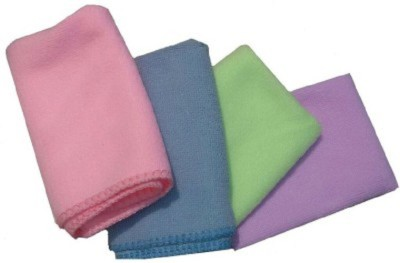 Retina Dry Microfibre Cleaning Cloth(Pack of 4)