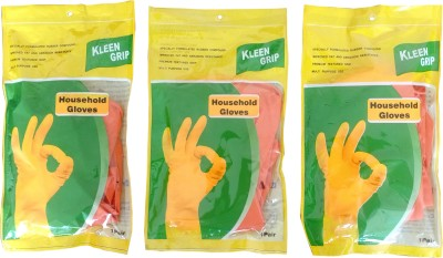 kleen grip Dry Disposable Glove Set(Large Pack of 3)