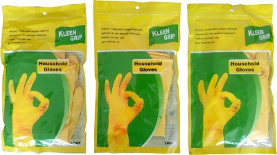 kleen grip Dry Disposable Glove Set(Small Pack of 3)