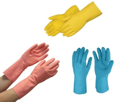 Surf Wet and Dry Glove Set(Free Size Pack of 6)