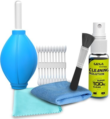Gizga essentials Professional 6-IN-1 Cleaning Kit for Cameras and Sensitive Electronics for Computers