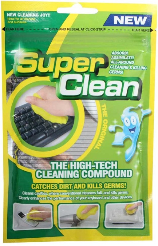 Super Clean Cleaner Compound Slimy Magic Gel for Computers(HHC-3205)