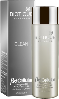 Biotique Advanced Bxl Cellular Cleansing Oil Face, Eyes, Lips For Normal To Dry Skin