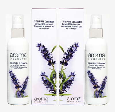 Aroma Treasures Skin pure Cleanser 100ml (Pack Of 2)