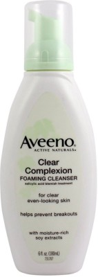 Aveeno Clear Complexion Foaming Cleanser ( Imported)