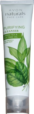 Avon Naturals Green Tea And Tea Tree Purifying Cleanser(100 g)