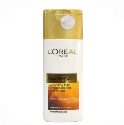 L,Oreal Paris Age Perfect Cleansing Milk Smoothing and anti fatigue